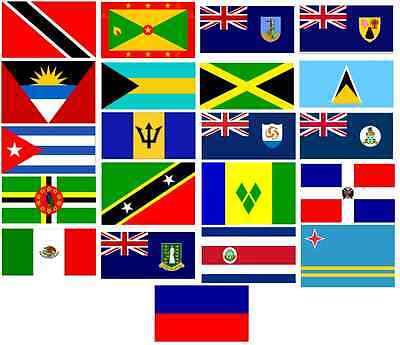 Caribbean Islands 5 X 3 Flags Nottinghill Carnival Flag Flags Ebay