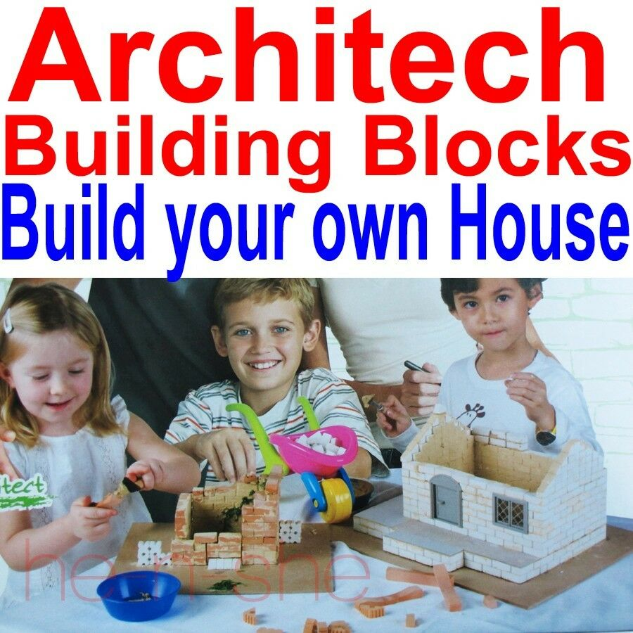 2013 Nuevos Soy Un Arquitecto-construir una Casa Construction Set bloques de construcción 9289