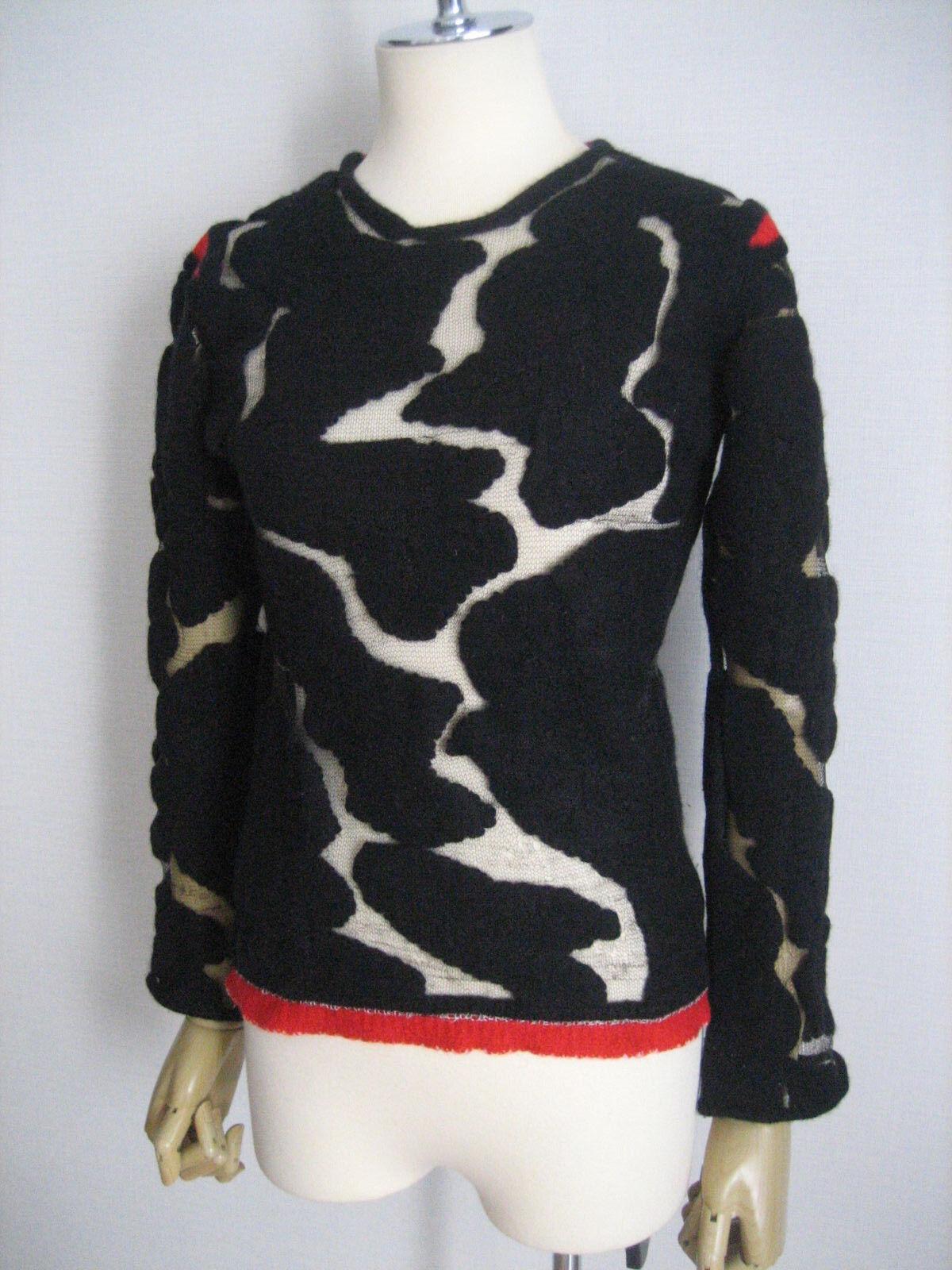 Vintage Comme Des Garcons See-trough Sweater