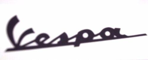 Vespa Emblem Schriftzug schwarz V50 PK ET3 50 N Special Sprint VNA VBB ACMA NEU