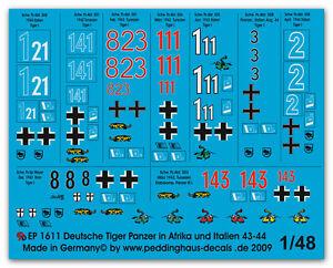 Peddinghaus-1-48-1611-Tiger-I-PANZER-en-Italia