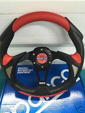 320 mm Rosso Piatto Stile deriva Rally Volante OMP MOMO NARDI PVC cuoio un