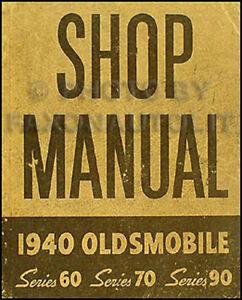 image is loading 1940-oldsmobile-original-repair-manual-40-olds-shop-