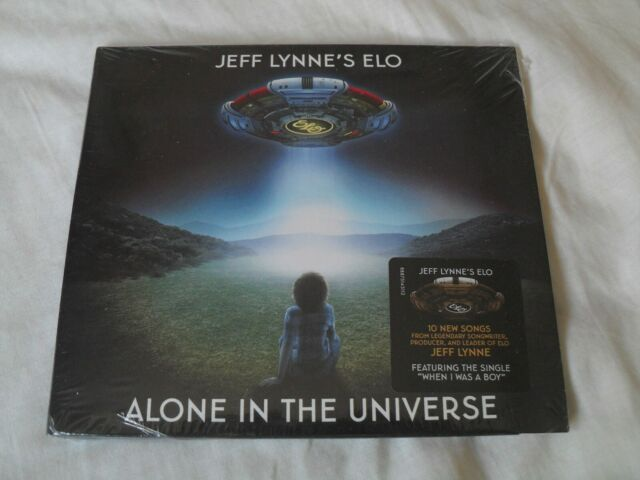 JEFF LYNNE'S ELO - Alone in the Universe (great 10 track CD) new & sealed