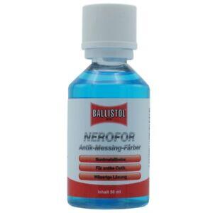 (EUR 2,79/10ml) BALLISTOL NEROFOR Kaltbrünierung Antik Buntmetallbeize 50ml