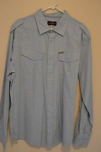 Marc Ecko Cut & Sew Mens XL long sleeve button up