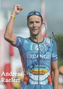 Andreas Raelert   -   Triathlet   -      original Autogramm