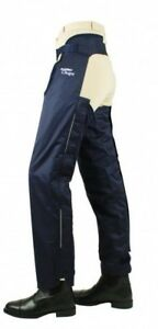 Horseware Ireland Cotton Lined Over Chaps Elastic Strap Waterproof