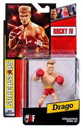 Rouge troncs Rocky IV Grand écran Superstars Drago Mini Figure