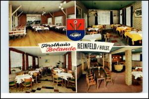 REINFELD-Holstein-AK-Forsthaus-Bolande-4-fach-Karte-Mehrbildkarte-Postkarte