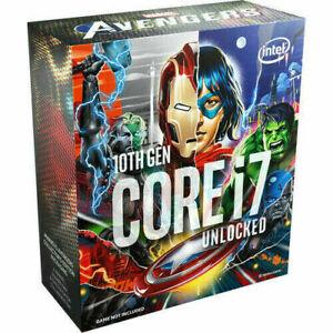 Intel Core i7-10700K 3.8 GHz Eight-Core BX8070110700KA Processor Avenger Edition