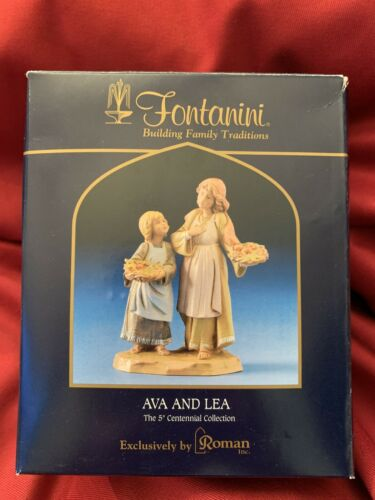 """Details about  /Fontanini 5/"""" Centennial Collection Ava And Lea LTD ED Exclusively by Roman Inc."""