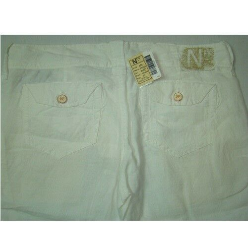 Pants Trousers 304 Nuovo Nfy 7 Pantalone Tight Pantaloni Capris Cut 8 Donne Per PxqSw7xaU