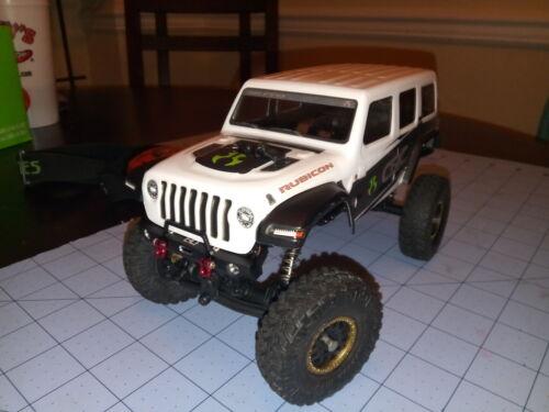 forAxia SCX24 Aluminum Front Bumper Mount SXTF0F01