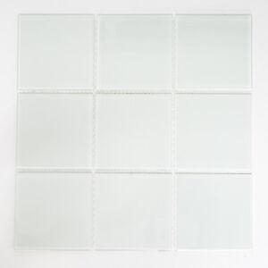 Glasmosaik-Fliese-Milchglas-weiss-matt-gefrostet-Fliesenspiegel-Kueche-CM-Z491
