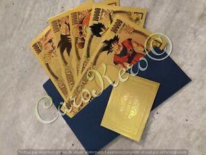 Dragon Ball Z Money//Yen Gold Collectible DBZ Japan  Gangster Goku