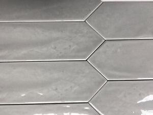 Image Is Loading 3x12 Modena Collection Smoky Gray Glazed Ceramic Tile
