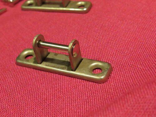 vintage NOS Gibson case handle brackets TKL Rivets for es 335 Les Paul paf L5