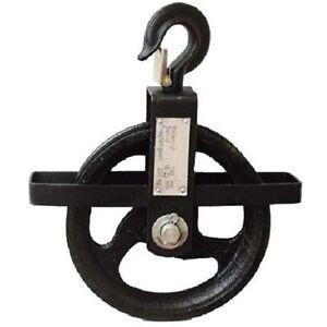 Seilrad-fuer-Seile-bis-22-mm-mit-Hakensicherung-Baurolle-Umlenkrolle-Seilrolle