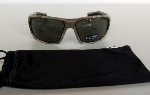 New Under Armour Launch ANSI Sunglasses Real Tree Xtra//Gray MSRP$110