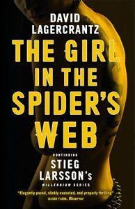 David-Lagercrantz-Fille-en-The-Spider-S-Web-Tout-Neuf-Freepost-GB