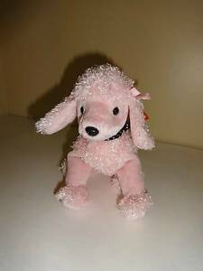 ea8a18d0d4a Image is loading TY-Beanie-Baby-Babies-Collection-Brigitte-Pink-Poodle-