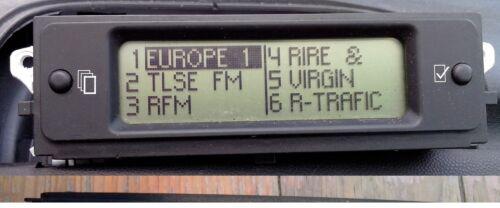 Afficheur 3 lignes ecran multifonction EMF B  autoradio Xsara 9637411777 D03