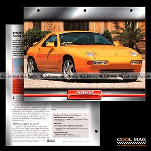 041-07-PORSCHE-928-GTS-1991-Fiche-Auto-Car-card