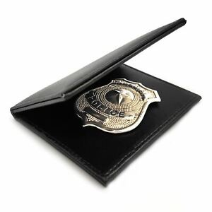 Mens-Silver-Police-Badge-Cop-Officer-ID-Badge-Wallet-Fancy-Dress-Prop-Costume