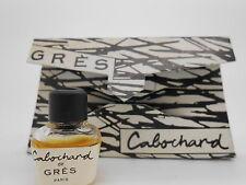 Gres Cabochard 1ml mini perfume parfume bottle miniature vintage rare!