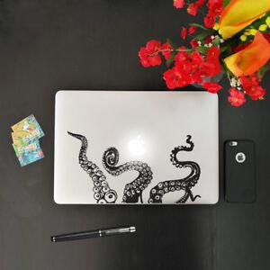 """Adesivo per Macbook Pc e Notebook """"OCTOPUS"""" Sticker in Vinile prespaziato"""