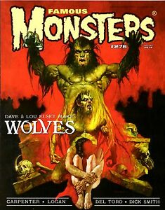 FAMOUS-MONSTERS-OF-FILMLAND-276-WOLVES-Werewolf-BIG-TROUBLE-Guillermo-Del-Toro
