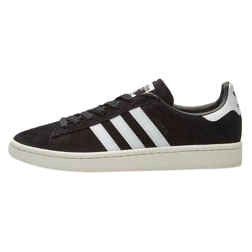 adidas Originals Campus Leather NEU Schuhe Schwarz Herren Sneaker Leder NEU Leather B0080 84cff6