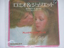 "ALEC R. COSTANDINOS -Romeo & Juliet- Soundtrack 7"" 45 OST Japan Pressung"