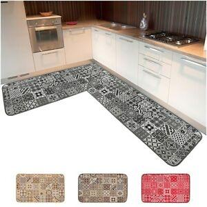 Tappeto-cucina-ANGOLARE-o-CORSIA-SU-MISURA-al-metro-antiscivolo-mod-CHALET30