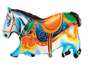 Diapositives-ballon-cheval-Bund-Helium-Ballon-Ballon-Enfants-Anniversaire-Animal-en-cours