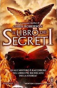 IL-LIBRO-DEI-SEGRETI-CHRIS-ROBERSON-ROMANZO-CON-COPERTINA-RIGIDA