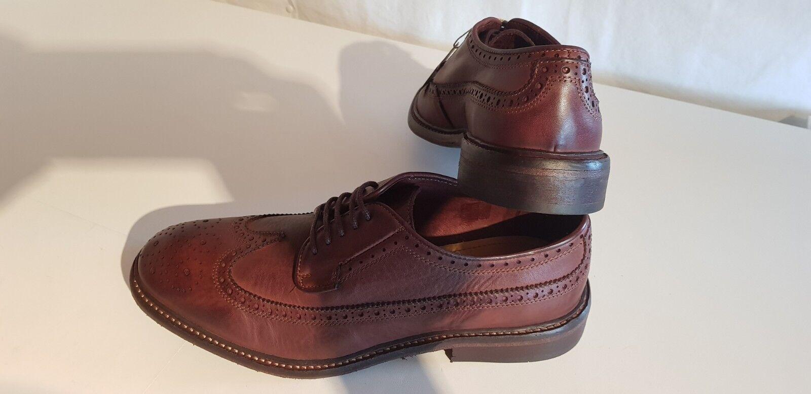 Hudson londres Somme señores cuero schnürzapatos marrón oscuro tamaño 43-44-45-46 nuevo