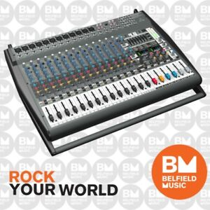 Behringer-EUROPOWER-PMP6000-Powered-PA-Mixer-1600W-20-Channel-PMP-6000-BNIB