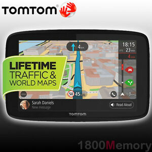 GENUINE-TomTom-GO-620-In-Car-GPS-Navigation-6-034-Interactive-Screen-Lifetime-Maps