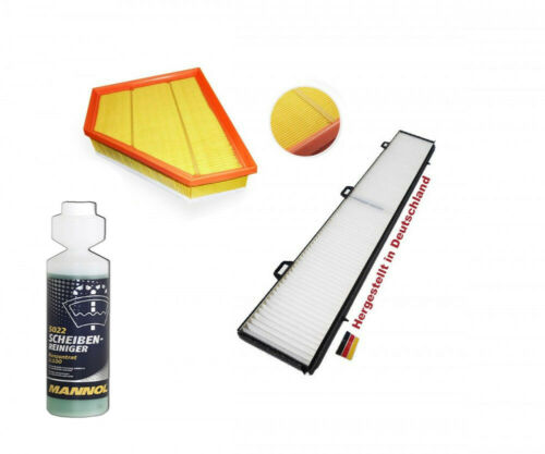 FILTRO ARIA //Filtro Polline BMW 1er 3er e81 e90 REGALO Spazio interno filtro micro
