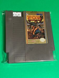 100-WORKING-NINTENDO-NES-CLASSIC-ARCADE-GAME-SNK-P-O-W-Prisoners-Of-War