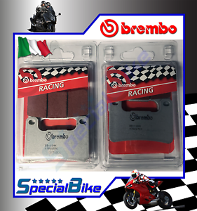 SUZUKI-GSX-R-750-2006-gt-2010-K6-BREMBO-SC-SINTERED-BRAKE-PADS-2-SETS-RACING