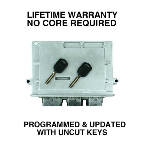 Engine Computer Programmed with Keys 2006 Lincoln Town Car 6W1A-12A650-AFB UTF1