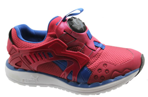 Puma Ftr Future Disc Lite Core Mens Trainers Red Blue Slip On 356953 02 U103