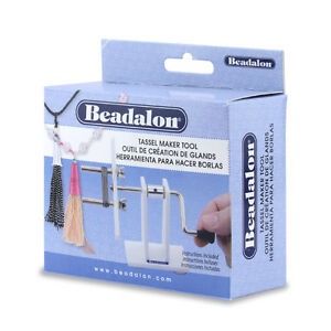 BEADALON Tassel Maker Tool 7mm O.D. (0.275 in) pegs (216S-100)