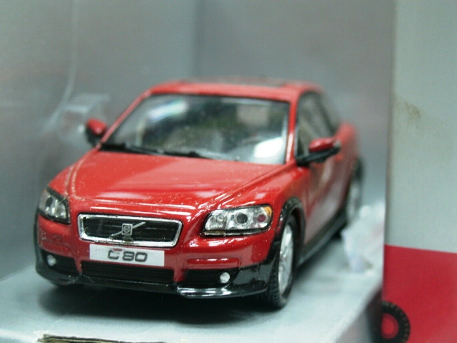 WOW EXTREMELY RARE Volvo C30 C30 MkI SC T5 2007 Candy Red VFL5016R 1 43 Motorart-850