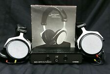 2 Vintage BEYERDYNAMIC ET-1000 N1000 Electrostatic RARE Headphones Awesome Sound