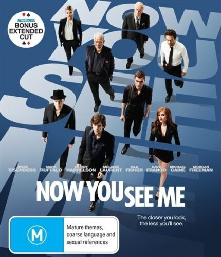 1 of 1 - Now You See Me (Blu-ray, 2013)*Excellent Condition