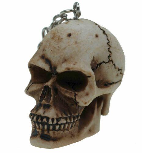 Schlüsselanhänger Schädel Totenschädel Totenkopf Figur Schlüsselbund